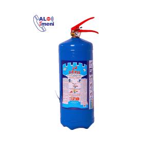 کپسول آتش نشانی آب و گاز دژ 6 کیلوگرمی