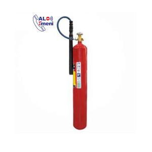 کپسول آتش نشانی 12 کیلوگرمی CO2 دژ