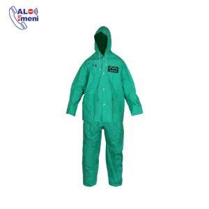 لباس کار یکسره ضد اسید ماگما سبز