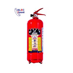 کپسول آتش نشانی پودری سه کیلویی دژ