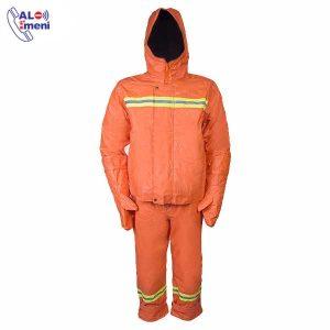 لباس کار مقاوم شیمیایی