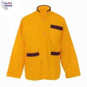 لباس کار رستورانی زرد