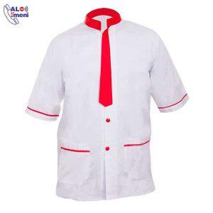 لباس کار رستورانی سفید کرواتی