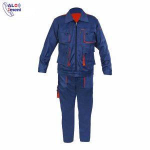 لباس کار مهندسی آبی کاربنی