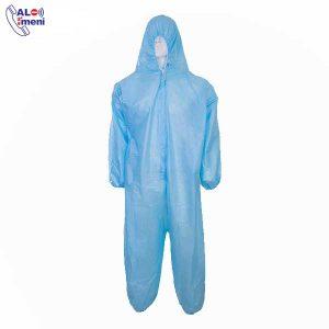 لباس کار یکبار مصرف پوشش دار