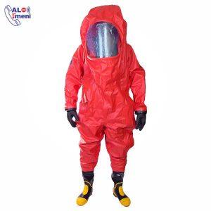 لباس ضد گاز MKF 06 MEIKANG قرمز