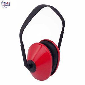 گوشی صداگیر ERGOMAX SILENTA قرمز