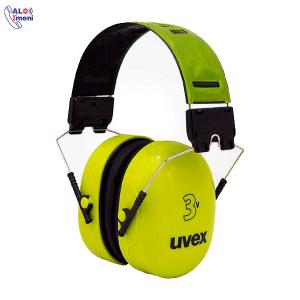 گوشی ایمنی مدل UVEX 3V سبز