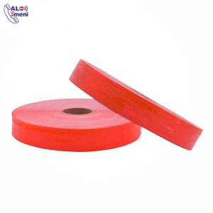 نوار شبرنگ دار PVC نارنجی 2.5 سانتی