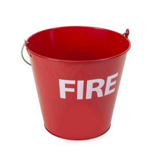 سطل شن آتش نشانی