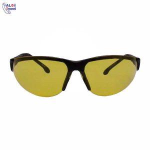 عینک ایمنی اپتیک PO مدل R200 زرد